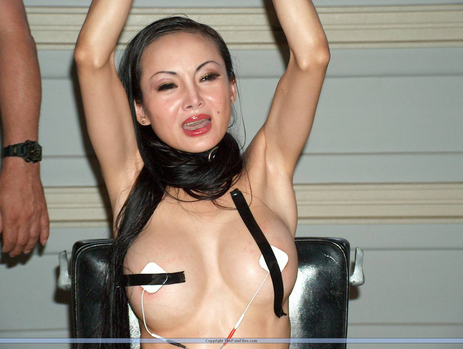 Know nothing Asian fuck nude pussy painful